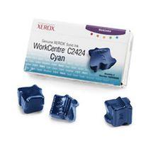CERNEALA SOLIDA CYAN 3 STICKS 108R00660 3,4K ORIGINAL XEROX WC C2424DN x 3