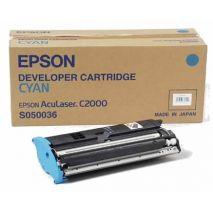 CARTUS TONER CYAN C13S050036 6K EPSON ACULASER C2000