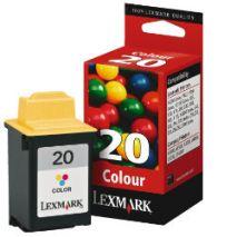 Lexmark Cartus cerneala 15MX120E Cartus #20