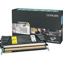 Lexmark Toner C5200YS Cartus C5200YS