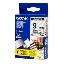 Brother Banda laminata TZ121 Cartus TZ 121