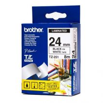 Brother Banda laminata TZ251 Cartus TZ 251