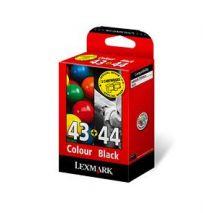 Lexmark Cartus cerneala 80D2966 ORIGINAL Cartus #43Xl + #44Xl