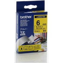 Brother Banda laminata TZS611 Cartus TZ S611