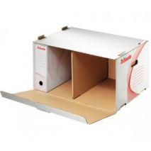 Container de arhivare, cu deschidere laterala, 510 x 275 x 365mm, ESSELTE