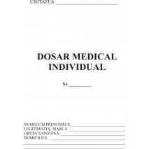 Dosar medical individual, A5, tipar fata/verso, 20 file/carnet