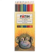 Creioane colorate, 1/1, 12 culori/set, FATIH