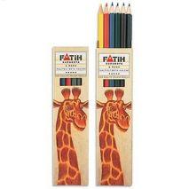 Creioane colorate, 1/1, 6 culori/set, FATIH