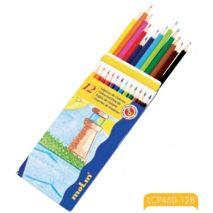 Creioane colorate, 1/1, 12 culori/set, MOLIN Color Plus