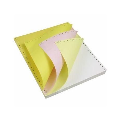 Hartie pt. imprimante matriceale A4, 3 ex., a-a-a, 56-53-55 g/mp, 550 seturi/cutie, EUROLISTING
