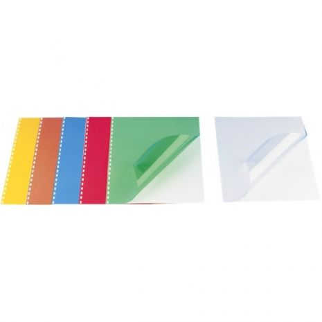 Coperta plastic indosariat A3, 200 microni, 100/top OPUS - transparent cristal