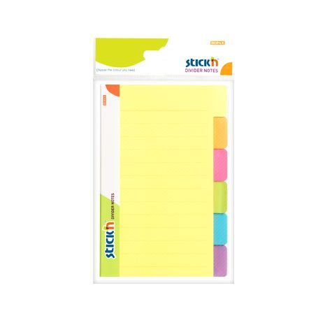 Notes , divider 6 culori