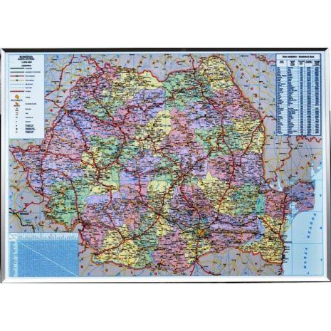 Harta rutiera magnetica