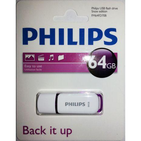 Memory stick USB 2.0 - 64GB PHILIPS Snow edition