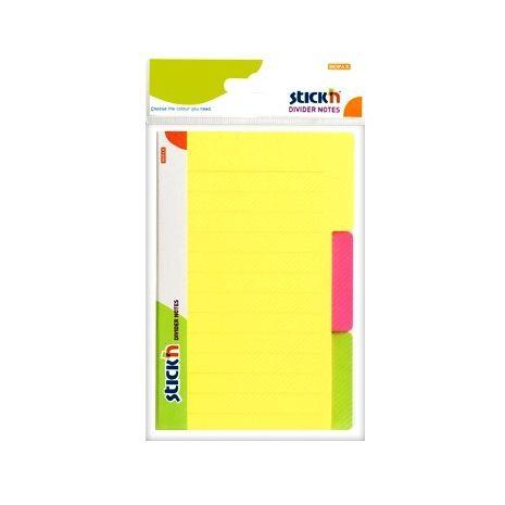 Notes , divider 3 culori