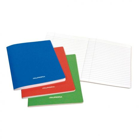 Caiet A5, 36 file - 80g/mp, liniat stanga, coperta carton laminat, AURORA - dictando
