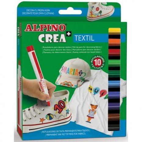 Set ALPINO Crea + TEXTILE - carioca