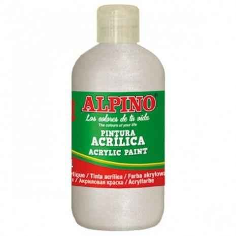 Vopsea acrilica, rezistenta la apa, 250ml, ALPINO