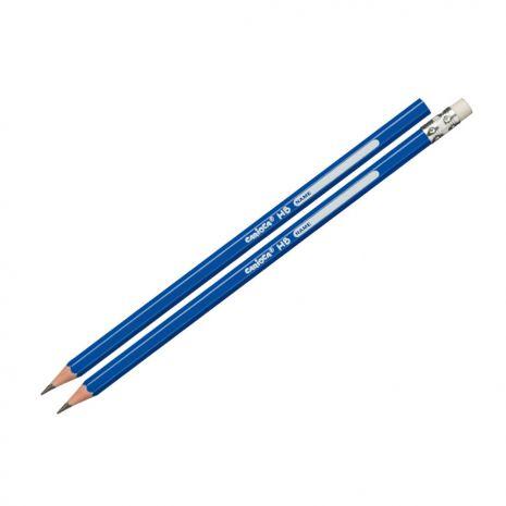 Creion HB, cu radiera, CARIOCA