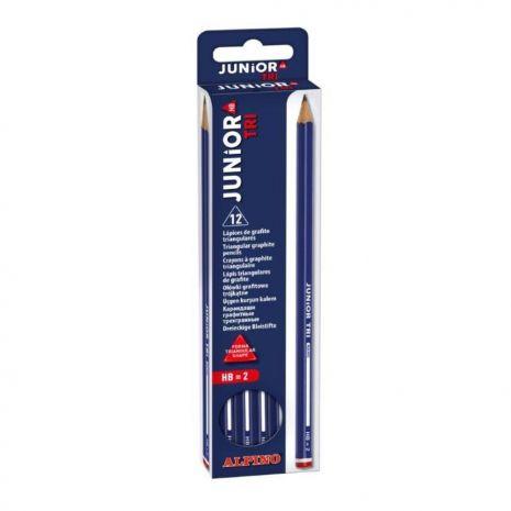 Creion cu corp triunghiular, ALPINO Tri - duritate HB