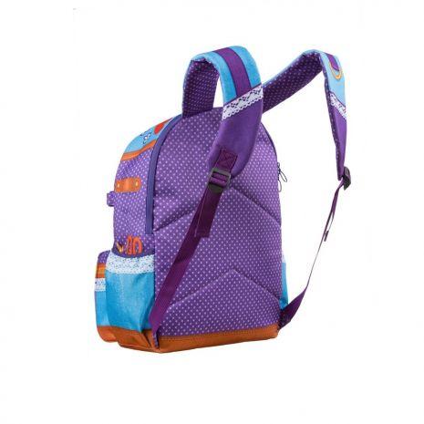 Rucsac ZIP..IT Adventure Young Fashion Designer, cu buzunare laterale - EAN 7290106148
