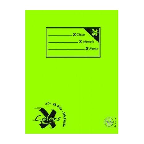Caiet A5, 60 file, PIGNA Basic