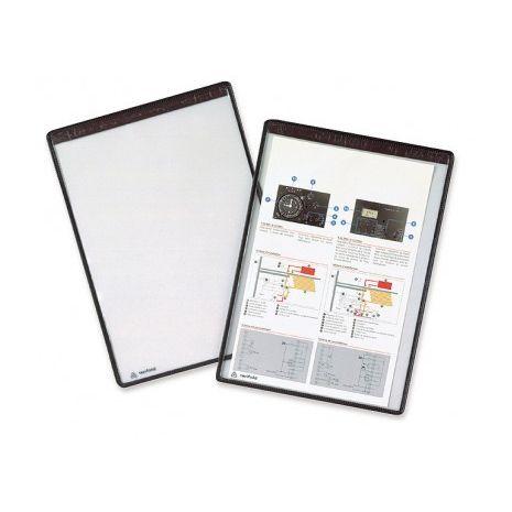 Set 5 buzunare de prezentare magnetice, negru, TARIFOLD individual